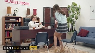 Brazzers - Hot school girl Ashly Anderson will do anything to get a better