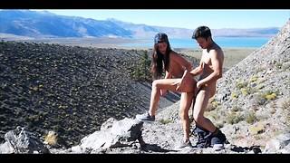 Belle vue en montagne - Couple amateur francais Sextwoo -