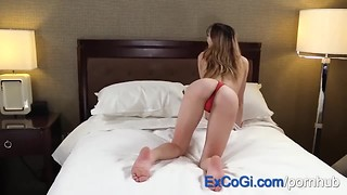 ExCoGi - Teen Ana Rose Gets Fucked