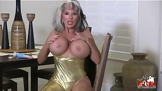 Boyfriends Fetish smoking stripper mature Sally D'_angelo