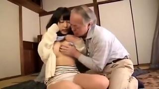 NSPS 269 MusumeHara Chigusa and Grandpa Love it !
