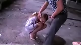 Young russian escort forced to facefuck deepthroat hardcore