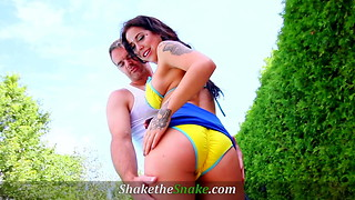 Shake The Snake - Summer Pool Babes Fucked Hard